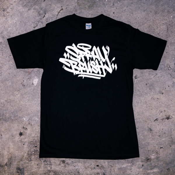 Black SprayBrush T-Shirt Original